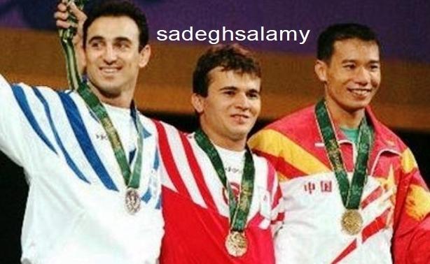 برتری نعیم بر والرئوس لئونید یونانی در المپیک آتلانتا