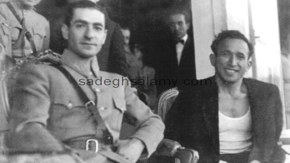 جعفر سلماسی و محمد رضا شاه