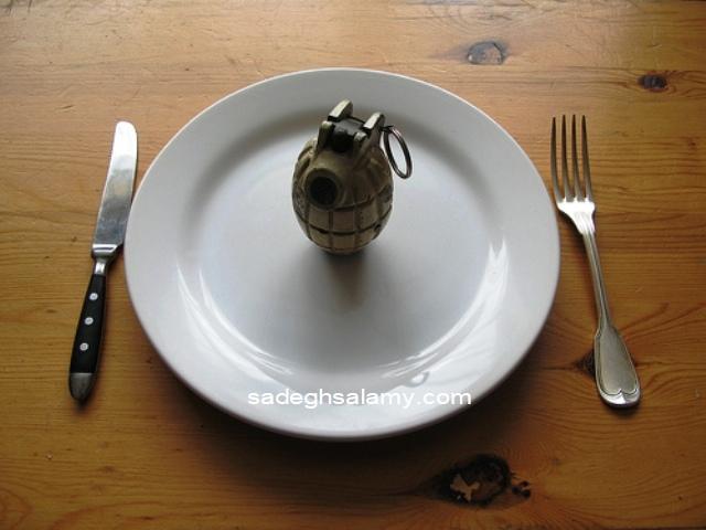 غذا می کشد