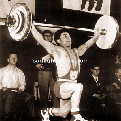 محمود نامجوی، اسطوره وزنه برداری