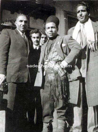 محمود نامجوی در لباس محلی شمالی