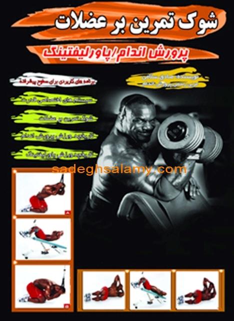 کتاب شوک تمرین بر عضلات نوشته صادق سلامی