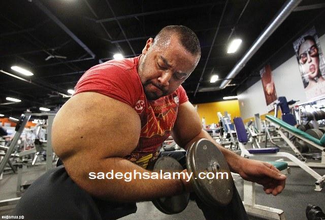 مصطفی اسماعیل رکورد دار بزرگ ترین بازوهای گینس